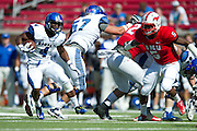 DALLAS, TX - OCTOBER 25:  Robert Davis #4 of the Memphis Tigers breaks free against the SMU Mustangs during the 4th quarter on October 25, 2014 at Gerald J. Ford Stadium in Dallas, Texas.  (Photo by Cooper Neill/Getty Images) *** Local Caption *** Robert Davis