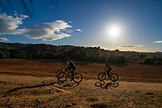Mountainbiking in Sant Cugat del Valles, Parc rural de Torra Negra.