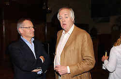 Left to right, LORD ARCHER and SIR TIM RICE at a party to celebrate the publication of Wicked - A Tale of Two Schools by Jilly Cooper held at Westminster School, Dean's Yard, London on 11th May 2006.<br /><br />NON EXCLUSIVE - WORLD RIGHTS