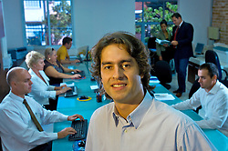 Roberto Soraire, analista de marketing da PAP - Propriedade Intelectual. A PAP, de Porto Alegre, assessora várias empresas do Sul em avaliações de marcas e patentes, transferências tecnológicas e planejamento de proteção intelectual. FOTO: Jefferson Bernardes / Preview.com