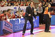 DESCRIZIONE : Pistoia Lega serie A 2013/14 Giorgio Tesi Group Pistoia Victoria Libertas Pesaro<br /> GIOCATORE : paolo moretti<br /> CATEGORIA : esultanza<br /> SQUADRA : Giorgio Tesi Group Pistoia<br /> EVENTO : Campionato Lega Serie A 2013-2014<br /> GARA : Giorgio Tesi Group Pistoia Victoria Libertas Pesaro<br /> DATA : 24/11/2013<br /> SPORT : Pallacanestro<br /> AUTORE : Agenzia Ciamillo-Castoria/GiulioCiamillo<br /> Galleria : Lega Seria A 2013-2014<br /> Fotonotizia : Pistoia Lega serie A 2013/14 Giorgio Tesi Group Pistoia Victoria Libertas Pesaro<br /> Predefinita :