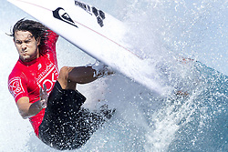 June 15, 2017 - Nadi, Fiji - Rookie CONNOR O'LEARY of Australia advances to the semifinals of the Outerknown Fiji Pro after defeating fellow rookie Joan Duru of France in quarterfinal heat 3 in excellent Cloudbreak conditions in Nadi, Fiji. (Credit Image: © Rex Shutterstock via ZUMA Press)
