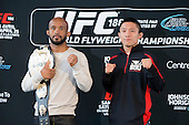 UFC 186 Media Day