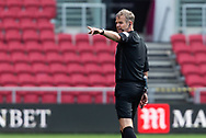 Referee Chris Sarginson during the EFL Cup match between Bristol City and Exeter City at Ashton Gate, Bristol, England on 5 September 2020.