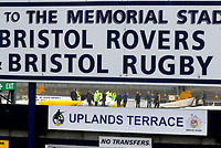 Photo: Leigh Quinnell/Sportsbeat Images.<br /> Bristol Rovers v Swansea City. Coca Cola League 1. 08/12/2007. Groundsmen work hard, but the game is off at the Memorial Stadium after heavy rain.