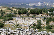 Site of prehistoric Greek city of Mycenea.  Home of Agamemnon and capital of Achaean Greeks c1450-c1100 BC