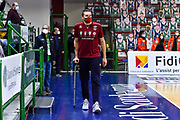 Michael Bramos<br /> Banco di Sardegna Dinamo Sassari - Umana Reyer Venezia<br /> LegaBasket Serie A LBA UnipolSai 2020/2021<br /> Sassari,27/02/2021 - Ore 20:00<br /> Foto C.Atzori / Ciamillo-Castoria