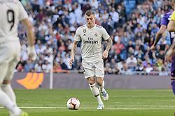 March 16, 2019 - Madrid, Madrid, Spain - Real Madrid's Toni Kroos seen in action during La Liga match between Real Madrid and Real Club Celta de Vigo at Santiago Bernabeu Stadium in Madrid, Spain. (Credit Image: © Legan P. Mace/SOPA Images via ZUMA Wire)