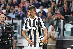 September 23, 2017 - Turin, Piedmont, Italy - Paulo Dybala of Juventus FC during the Serie A football match between Juventus FC and Torino FC at Allianz Stadium on 23 September, 2017 in Turin, Italy. ..Juventus FC won 4-0 over Torino FC. (Credit Image: © Massimiliano Ferraro/NurPhoto via ZUMA Press)