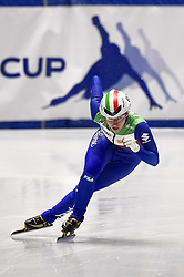 February 9, 2019 - Torino, Italia - Foto LaPresse/Nicolò Campo .9/02/2019 Torino (Italia) .Sport.ISU World Cup Short Track Torino - Ladies 500 meters Quarterfinals .Nella foto: Elena Viviani..Photo LaPresse/Nicolò Campo .February 9, 2019 Turin (Italy) .Sport.ISU World Cup Short Track Turin - Ladies 500 meters Quarterfinals.In the picture: Elena Viviani (Credit Image: © Nicolò Campo/Lapresse via ZUMA Press)
