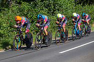 Ribble Weldlite Pro Cycling team, during the Tour of Britain 2021 third stage between Ysgol Bro Dinefwr and National Botanic Garden of Wales in Carmarthenshire, , United Kingdom on 7 September 2021.