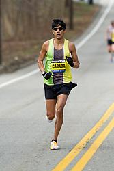 2013 Boston Marathon: Fernando Cabada, USA