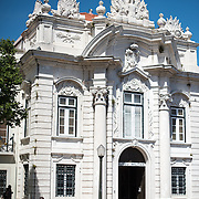 LISBON, Portugal - Housed in the old armoury, Lisbon's Military Museum showcases 500 years of Portuguese military history, with many of the exhibits in opulently decorated rooms of the historic building.
