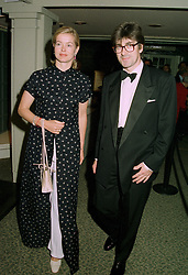 MR TIM & LADY HELEN TAYLOR, she is the daughter of the Duke of Kent, at a reception in London on 12th June 1997.LZH 19