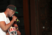 May 18, 2012 -New York, NY-United States:  Recording Hip Hop Artist Papoose opens for Lil' Kim performance as part of her ' Return of the Queen Tour ' held at Paradise Theater on May 18, 2012 in the Bronx, NY. Consistently recognized as a trailblazing Female MC, Lil'Kim has been a member of the clic, Junior MAFIA, headed by the late Notorious B.I.G. and has released 3 RIAA certified platinum albums to date. (Photo by Terrence Jennings)