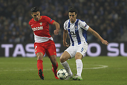 December 6, 2017 - Porto, Porto, Portugal - Radamel Falcao forward of AS Monaco FC (L) with Porto's Spanish defender Ivan Marcano (R) during the UEFA Champions League Group G match between FC Porto and AS Monaco FC at Dragao Stadium on December 6, 2017 in Porto, Portugal. (Credit Image: © Dpi/NurPhoto via ZUMA Press)