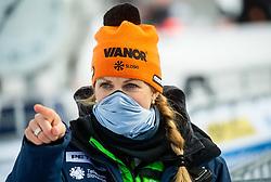 Spela Pretnar during 2nd Run of Ladies' Giant Slalom at 57th Golden Fox event at Audi FIS Ski World Cup 2020/21, on January 17, 2021 in Podkoren, Kranjska Gora, Slovenia. Photo by Vid Ponikvar / Sportida