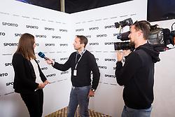 Damjan Medica and Alenka Potocnik Anzic (Gorenje) during Sports marketing and sponsorship conference Sporto 2017, on November 17, 2017 in Hotel Slovenija, Congress centre, Portoroz / Portorose, Slovenia. Photo by Vid Ponikvar / Sportida
