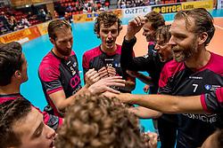 02-10-2016 NED: Supercup Abiant Lycurgus - Coniche Topvolleybal Zwolle, Doetinchem<br /> Lycurgus wint de Supercup door Zwolle met 3-0 te verslaan / Thijs van Noorden #7 of Coníche Zwolle