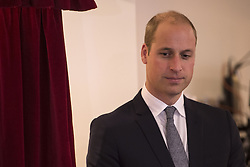 The Duke of Cambridge during a visit to Francis House hospice in Manchester.
