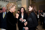 PRINCESS MICHAEL OF KENT; BETTINA VON HASE; VIOLET FRASER; , Book launch of Lady Annabel Goldsmith's third book, No Invitation Required. Claridges's. London. 11 November 2009