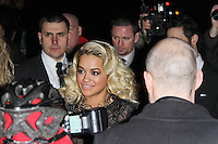 LONDON - FEBRUARY 13: Rita Ora attends the public relations disaster that was the outside arrivals at the ELLE Style Awards at the Savoy Hotel, London, UK on February 13, 2012. (Photo by Richard Goldschmidt)