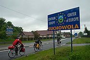 Geograficzny środek Europy w Suchowoli
