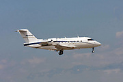 N926SS Private Bombardier CC-144C Challenger (CL-600-2B16/604) at Malpensa (MXP / LIMC), Milan, Italy