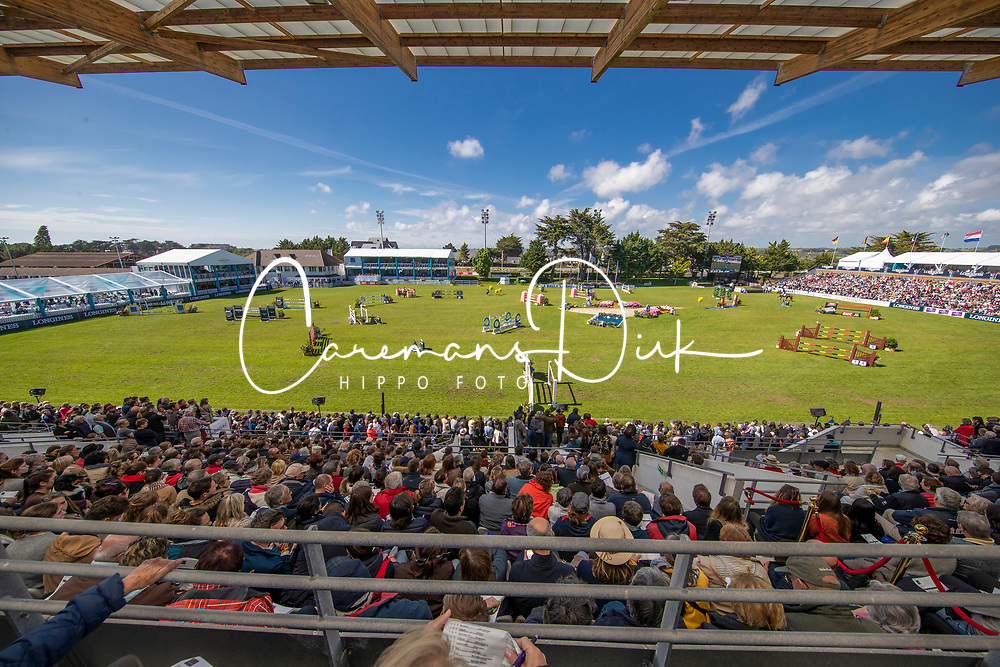 Overview arena<br /> Prix Groupe Barrière<br /> Longines Jumping International de La Baule 2017<br /> © Hippo Foto - Dirk Caremans<br /> Overview arena