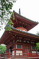 Kitain's origins began when the Buddhist monk Ennin founded Muryoju Temple in 830 A.D.  which was divided into three parts: Kitain, Nakain, and Minamiin. <br /> The temple was rebuilt in 1296 by the monk Sonkai. It became the head temple of the Tendai Sect  east Japan in 1300. The Chinese characters used to write Kitain were changed from those meaning North Temple, which has a rather dark image, to those meaning Temple of Happiness.