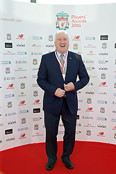 LIVERPOOL, ENGLAND - Thursday, May 12, 2016: Former player David Johnson arrives on the red carpet for the Liverpool FC Players' Awards Dinner 2016 at the Liverpool Arena. (Pic by David Rawcliffe/Propaganda)