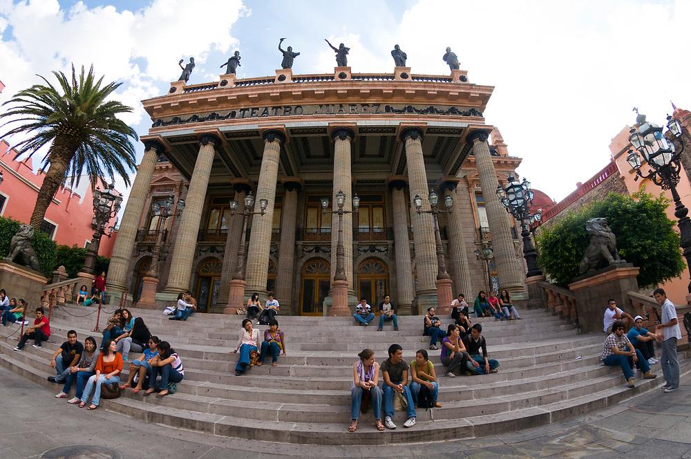 Teatro Juarez (theatre), Guanajuato, Mexico