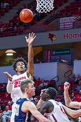 NORMAL, IL - November 29: Jaycee Hillsman during a college basketball game between the ISU Redbirds and the Prairie Stars of University of Illinois Springfield (UIS) on November 29 2019 at Redbird Arena in Normal, IL. (Photo by Alan Look)