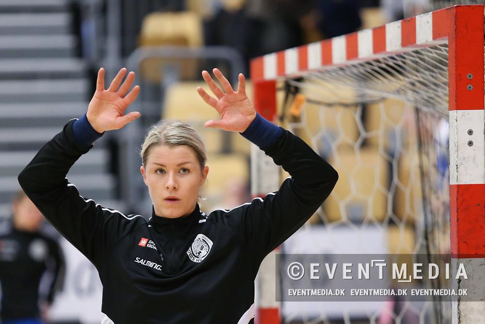 Martina Thörn (#16), Randers HK. EHF Cup qualification match between Randers HK and BNTU-BelAZ Minsk in Arena Randers, Denmark, 19.11.2017. Photo Credit: Allan Jensen/EVENTMEDIA.