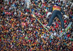 01.01.2013, Olympiaschanze, Garmisch Partenkirchen, GER, FIS Ski Sprung Weltcup, 61. Vierschanzentournee, Training, im Bild Gregor Schlierenzauer (AUT) // Gregor Schlierenzauer of Austria during practice Jump of 61th Four Hills Tournament of FIS Ski Jumping World Cup at the Olympiaschanze, Garmisch Partenkirchen, Germany on 2013/01/01. EXPA Pictures © 2012, PhotoCredit: EXPA/ Juergen Feichter