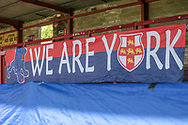 General view of the stadium before the Vanarama National League match between York City and Wrexham FC at Bootham Crescent, York, England on 17 April 2017. Photo by Mark P Doherty.