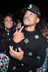 Chance The Rapper at KENZO x H&M.<br /> (NYC)