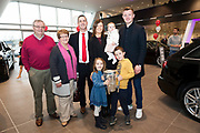 James Ryan and Family  with Joe Canning and The Liam McCarthy at Connolly Motor Group has opened its new state-of-the-art Audi Terminal Showrooms in Ballybrit, Galway. <br /> The finishing touches have been put to the ultra-modern dealership, increasing to 35 full-time jobs, bringing the number of full-time employees at the Connolly Motor Group to over  200 with 35 of those located in Galway.<br /> Work on the new €5 million state-of-the-art dealership began just before Christmas last year and opened on Tuesday October 31st.<br /> The new 'Audi Terminal' is just a stone's throw from Connollys' former Audi Galway dealership at the Briarhill Business Park, close to the Galway Racecourse in Ballybrit. <br /> Finished to the highest spec with the most up-to-date technology, the 23,000 sq. ft. car retail facility is based around Audi's newest design concept. <br /> It is one of the most modern facilities in the country and includes the most up-to-date technology for electric vehicles with multiple power points.<br />  Photo:Andrew Downes