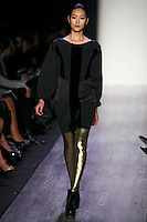 Liu Wen wearing the BCBG Max Azria Fall 2009 Collection