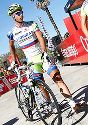 29.08.2011, Andalusien, ESP, LA VUELTA 2011, Stage 17, im Bild Peter Sagan during during the stage of La Vuelta 2011 between Faustino V and Pena Cabarga.September 7,2011. EXPA Pictures © 2011, PhotoCredit: EXPA/ Alterphoto/ Acero +++++ ATTENTION - OUT OF SPAIN/(ESP) +++++