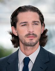 Shia Labeouf attends the photocall for the film Lawless at the Cannes Film festival, Saturday May 19, 2012. Photo by Andrew Parsons/i-Images.
