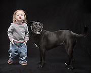 Photo of Daisy and her little girl who she bonded with and tries to spend every minute with.
