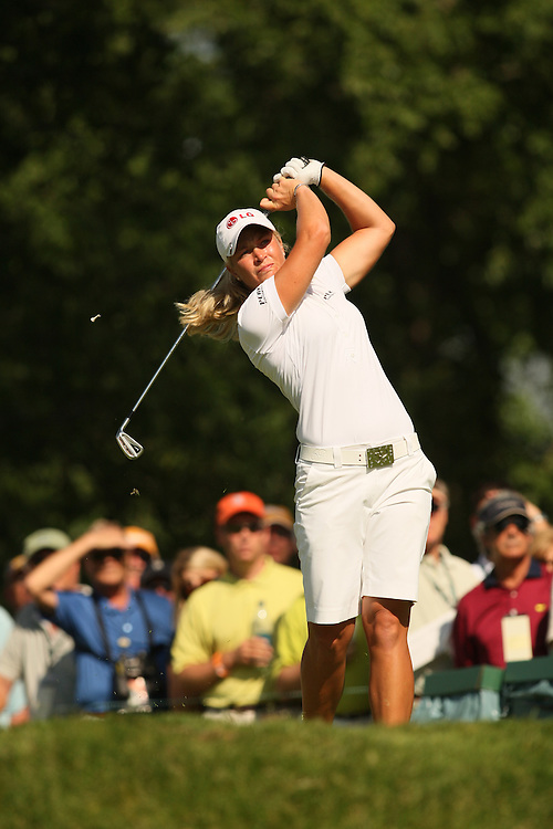 Suzann Pettersen during the first round of the 2008 United States Women's Open Championship at Interlachen Country Club in Edina, Minnesota on Thursday, June 26, 2008. .