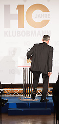 21.11.2016, Parlament, Wien, AUT, FPÖ, Feier anlässlich des 10 jährigen Jubiläums HC Strache´s als Klubobmann. im Bild FPÖ-Präsidentschaftskandidat Norbert Hofer // Candidate for Presidential Elections Norbert Hofer (Austrian Freedom Party) during 10 years anniversary leader of the parliamentary group of the austrian freedom party in Vienna, Austria on 2016/11/21. EXPA Pictures © 2016, PhotoCredit: EXPA/ Michael Gruber