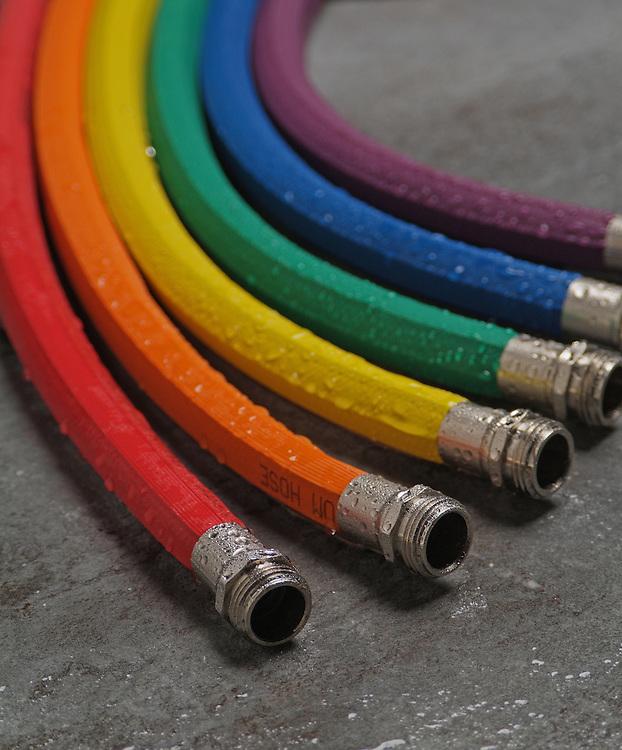 Gardener's Supply Company colorful hose rainbow