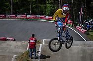 #272 (SIVIRA Jholman) VEN during round 4 of the 2017 UCI BMX  Supercross World Cup in Zolder, Belgium.
