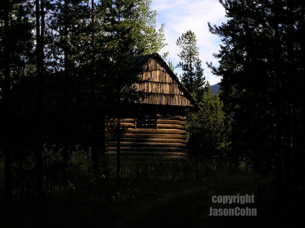 An old horse barn near Glacier Park, Montana. Photo by Jason Cohn
