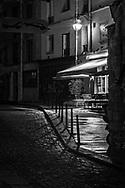 Nighttime Cafe, Paris, France