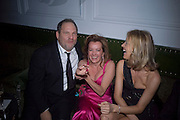 Harvey Weinstein, Caroline Gruosi-Scheufele and Eva Herzigova, Weinstein Bafta after-party in association with Chopard. Bungalow 8. London. 10  February 2008.  *** Local Caption *** -DO NOT ARCHIVE-© Copyright Photograph by Dafydd Jones. 248 Clapham Rd. London SW9 0PZ. Tel 0207 820 0771. www.dafjones.com.