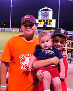 The Lake Erie Crushers defeated the Florence Freedom 5-4 with a walkoff single by rookie catcher Brian Erie in the 11th inning of a Frontier League game at All Pro Freight Stadium in Avon, OH.
